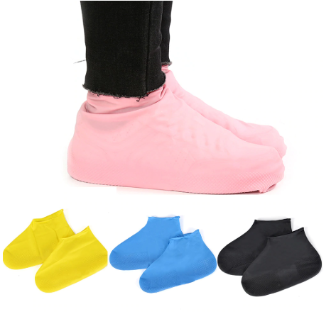 Waterproof Rain Shoes Covers Slip
