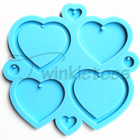 Brea Reese Resin Mold-Heart