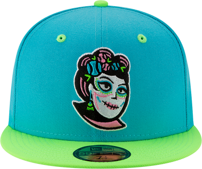 Idaho Falls Madres New Era 5950 Official Game Hat