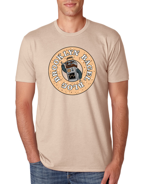 Brooklyn Bagel Blog Crew Neck T-Shirt