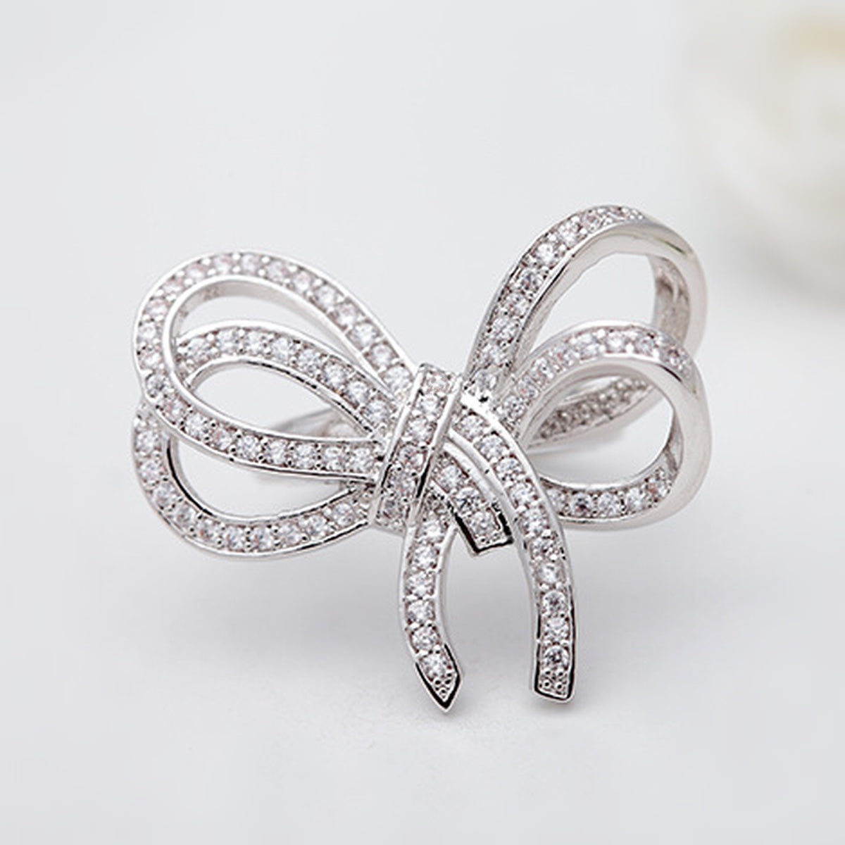 Bowknot Cocktail Ring - GRACE BOUTIQUE UK women jewellery necklace earring bracelet ring broach scarf wrap shawl accessories