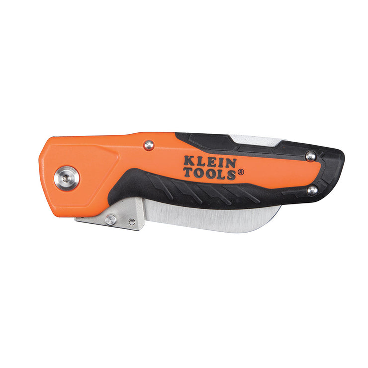 Klein Tools 44218 Folding Utility Knife with Replaceable Blade and Lockback Mechanism
