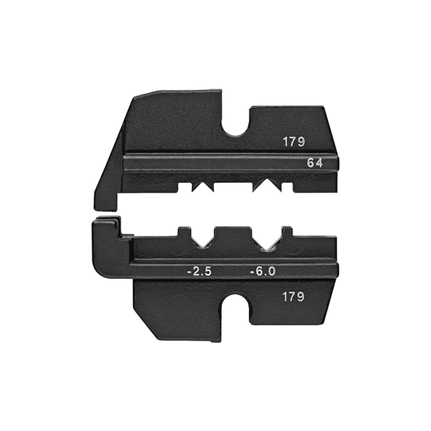 Knipex 97 49 64 Crimping Dies for ABS Connectors in Motor Vehicles