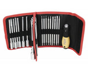Wiha Tools 28187 32 Piece ESD Safe Drive-Loc VI Blade Set in Folding Wallet