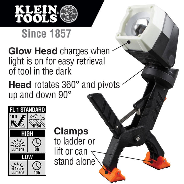 Klein Tools 56029 Clamping Worklight