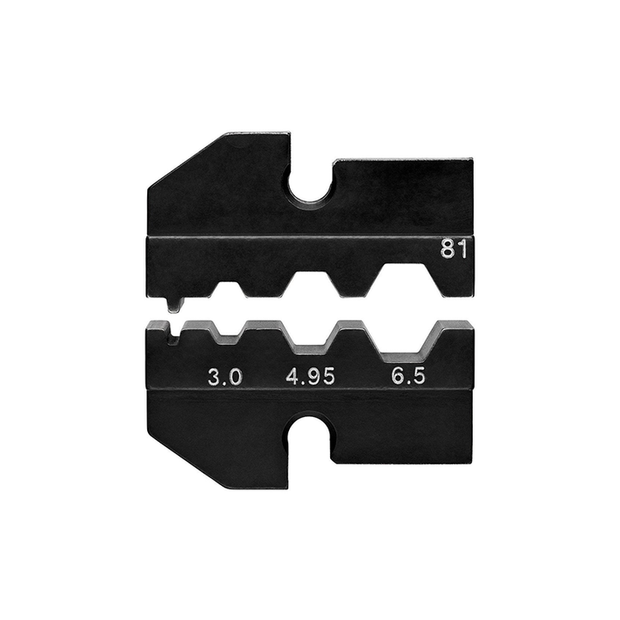 Knipex 97 49 81 Crimping Dies for Harting Connectors