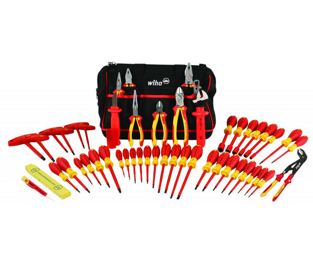 Wiha Tools 32874 Insulated Pliers/Screwdrivers 50 Piece Set