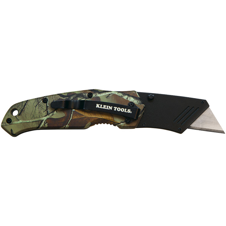 Klein Tools 44135 Folding Utility Knife Camo Assisted-Open