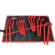 Wiha Tools 21094 Insulated Deep Offset Wrench 16 Piece Inch Set