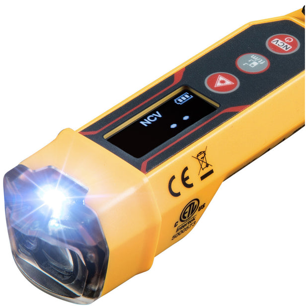 Klein Tools NCVT-6 Non-Contact Voltage Tester with Laser Distance Meter