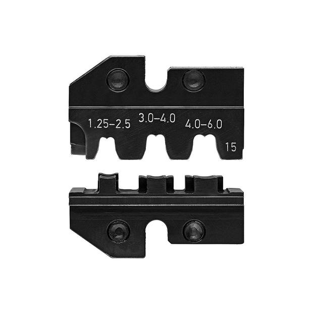 Knipex 97 49 15 Crimping Dies for Lug Connectors
