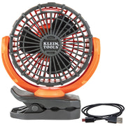 Klein Tools PJSFM1 Rechargeable Personal Jobsite Fan