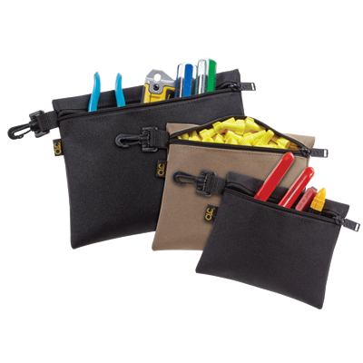CLC 1100 Multi-Purpose Clip-On Zippered Poly Bags
