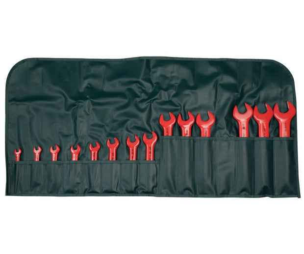 Wiha Tools 20190 Insulated Open End Inch Wrench Set, 14 Pc.