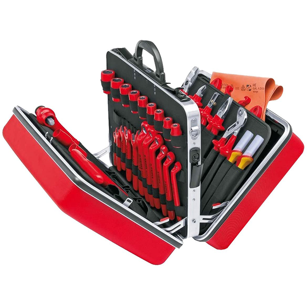 Knipex 98 99 14 Universal Electrical Installation Tool Set, 46 Pc.