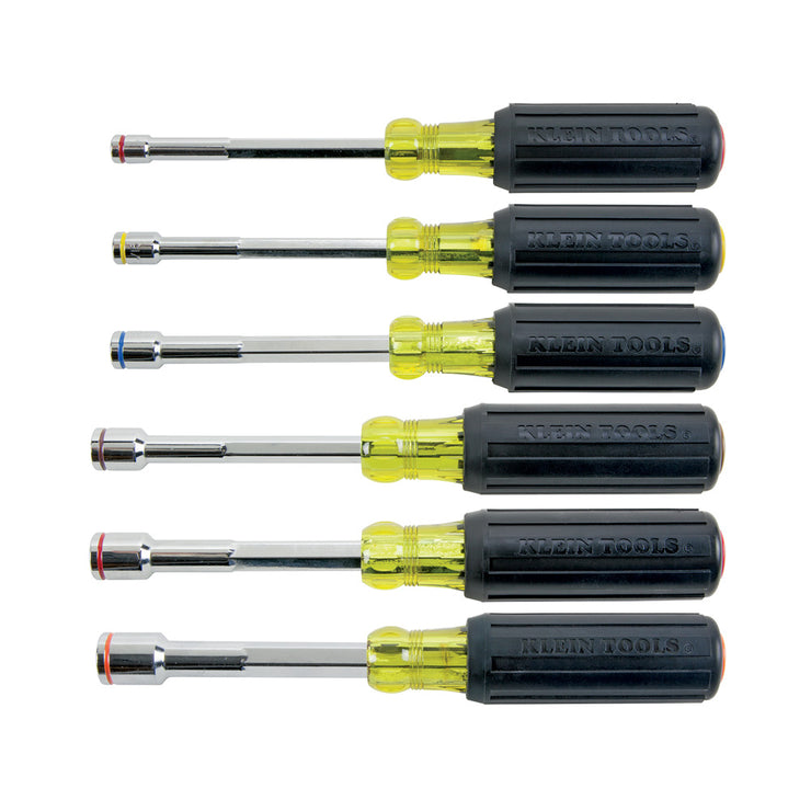 Klein Tools 635-6 Heavy Duty Magnetic Nut Driver Set