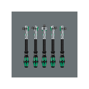 "Wera 05003596001 8100 SB 4 Zyklop Speed Ratchet Set, 3/8"" drive, imperial, 38 pieces"