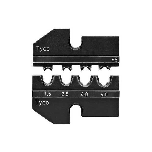 Knipex 97 49 68 Crimping Dies for Solar Cable Connectors (Tyco)