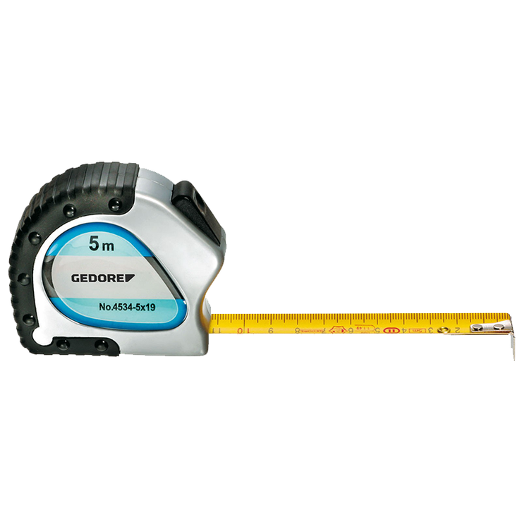 Gedore 6697920 4534-3 Steel Tape Measure, 3 m