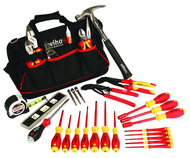 Wiha Tools 32935 Journeyman's Tool Set 30-Piece