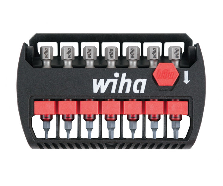 Wiha Tools 76896 Terminator Impact Power Bit Buddy Torx 7 Piece Set
