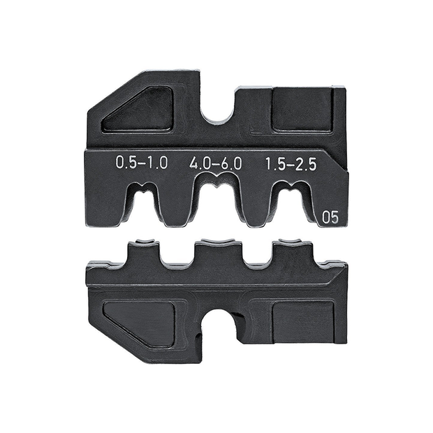 Knipex 97 49 05 Crimping Dies for Non-Insulated Open Plug-Type Connectors