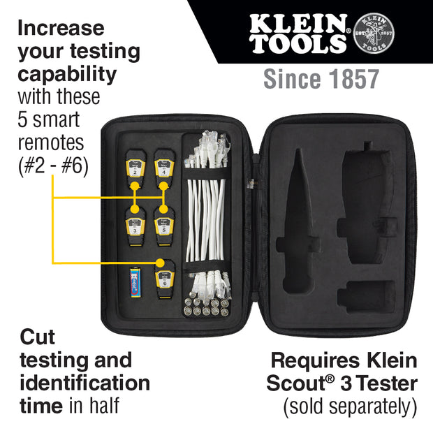 Klein Tools VDV770-850 Test + Map Remote Upgrade Kit for Scout Pro 3 Tester