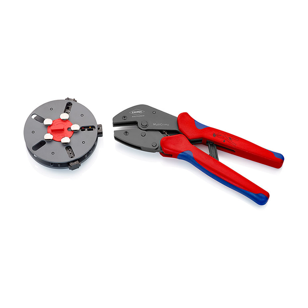 Knipex 97 33 01 MultiCrimp® Crimping Pliers with Changer Magazine