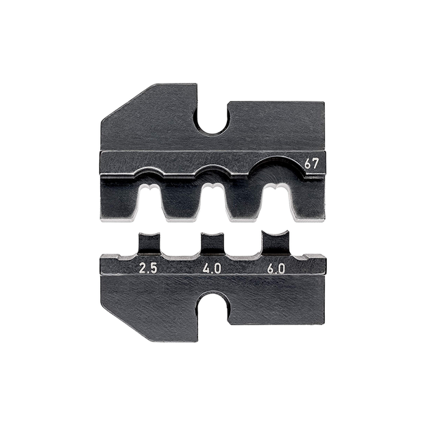 Knipex 97 49 67 Crimping Dies for Hirshmann Solar Connectors