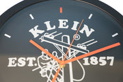 Klein Tools Logo Wall Mount Clock (Orange/Black)
