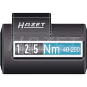 Hazet 5122-2CLT Torque Wrench, 40 - 200 Nm, 1/2""
