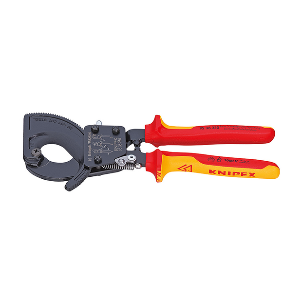 Knipex 95 36 250 SBA Cable Cutters Ratchet Action