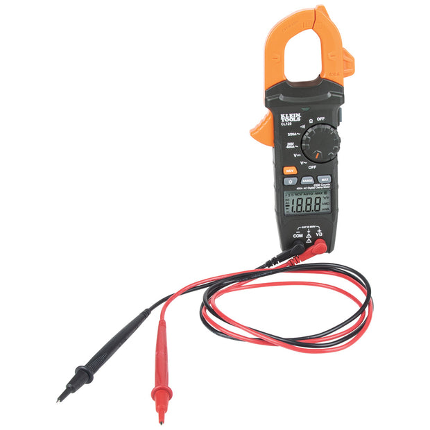Klein Tools CL120 Digital Clamp Meter, AC Auto-Ranging 400 Amp