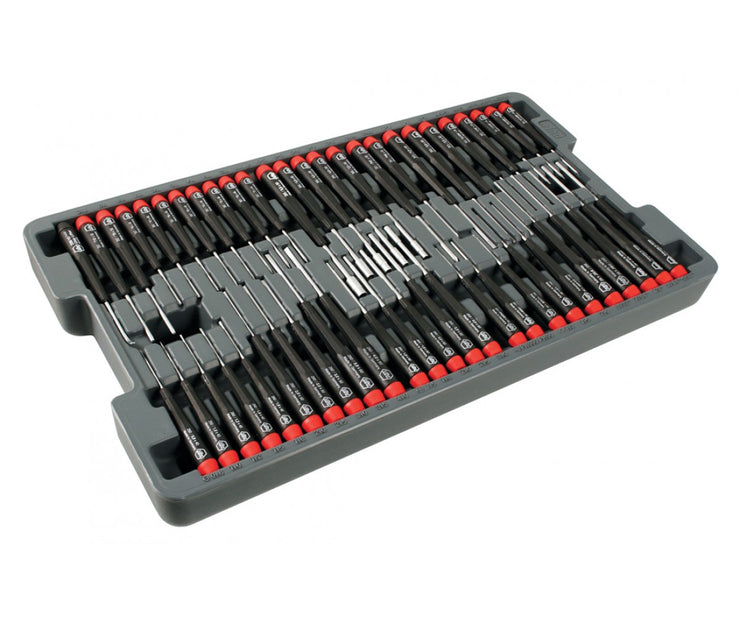 Wiha Tools 92191 Precision Tool Tray, 51 Pc. Set
