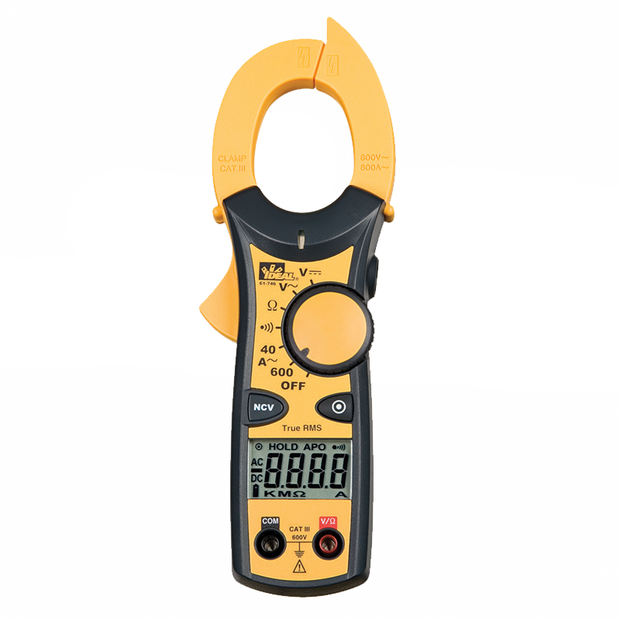 Ideal 61-744 Clamp-Pro 600 AAC Clamp Meter w/ NCV