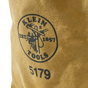 Klein Tools 5179 Water-Repellent Canvas Pouch Belt Loops
