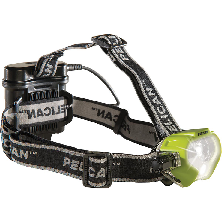 Pelican 2785 LED Headlamp Black - Yellow