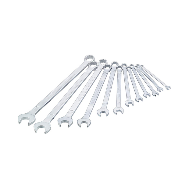 Hazet 600LG/12 Combination wrench, extra long 12 piece set metric