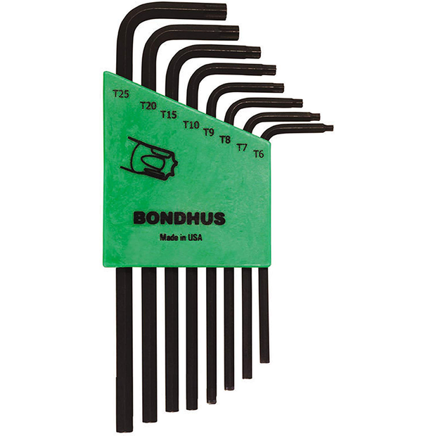 Bondhus 31832 TORX Long Arm L-Wrench Set, 8 Pc.