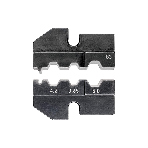 Knipex 97 49 83 Crimping Dies for FSMA, ST, SC, STSC/K connectors