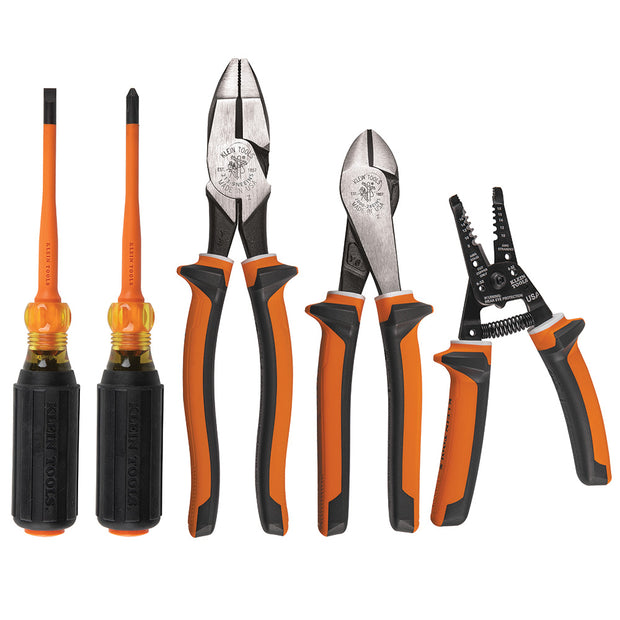 Klein Tools 94130 1000V Insulated Tool Kit, 5 Pc.