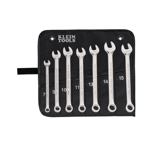 Klein Tools 68500 Metric Combination Wrench Set, 7 Piece