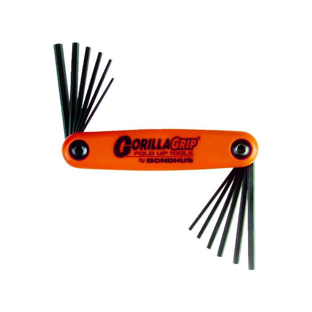 Bondhus 12550 Hex End GorillaGrip Fold Up Driver