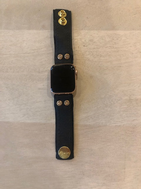 UPCYCLED GG APPLE WATCH SKINNY BAND