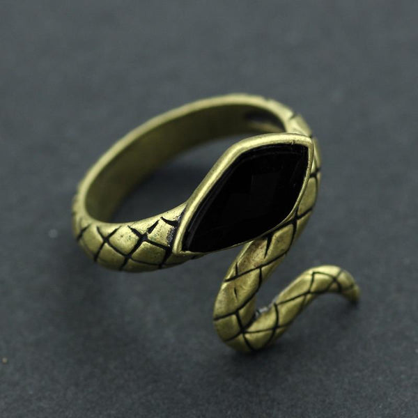 Bague Serpent Laiton