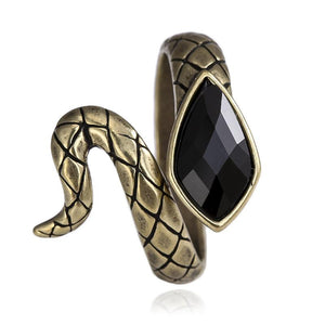 Bague Serpent En Laiton