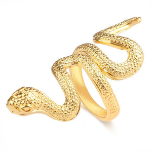 Bague En Or Forme Serpent