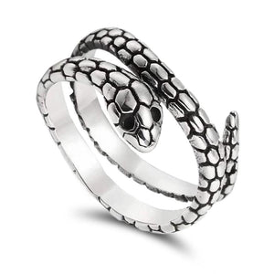 Bague de serpent
