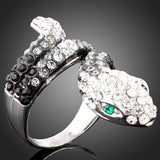 bague animal strass