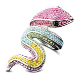 Bague Serpent Multicolore